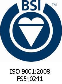 BSI America (Certificate #: FS 540241)